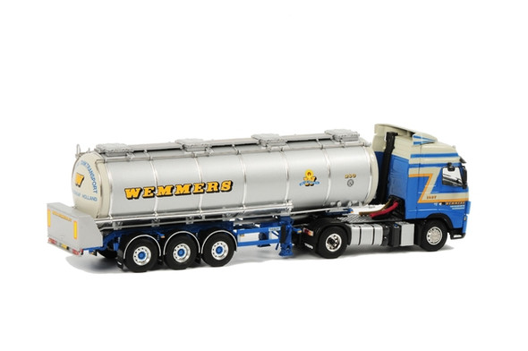 Wemmers Volvo FH 12 Globetrotter Liquid Tanker 1/50 Scale Back View