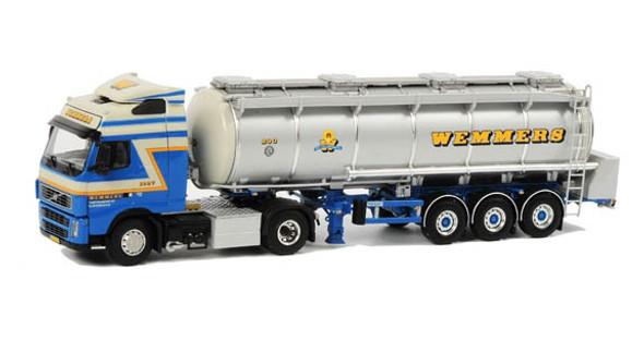 Wemmers Volvo FH 12 Globetrotter Liquid Tanker 1/50 Scale