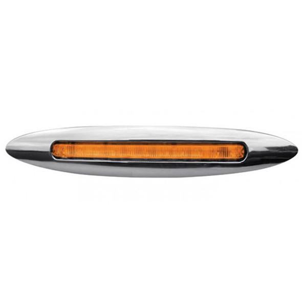"4.5"" Slim Line Marker LED Light Bar Amber LED"