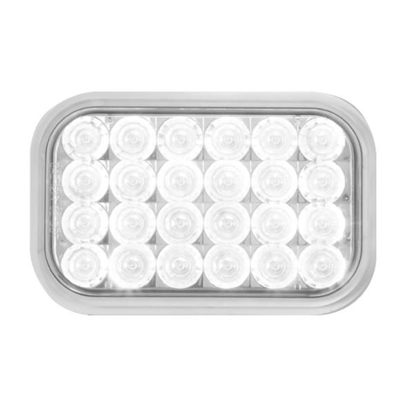 Rectangular Back-Up Clear LED Light