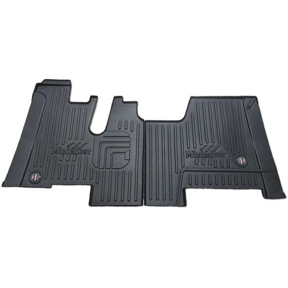 Kenworth W900 T800 T660 Minimizer Thermo Floor Mats Standard Day Cabs With Automatic Transmission