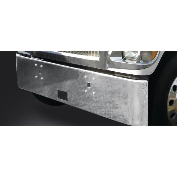 International 9900 Chrome Bumper Rolled End No Fogs
