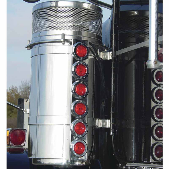 """Freightliner Classic FLD 13"""" Donaldson Rear Air Cleaner Light Bar"""
