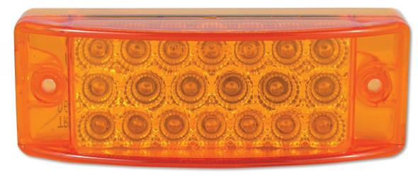 Rectangular LED Clearance Marker Light Amber