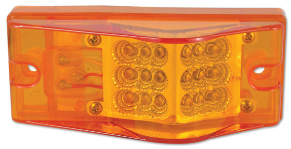 Rectangular Amber Clearance Marker LED
