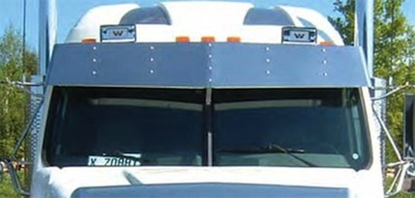 """Western Star 16"""" Visor For Stratosphere Sleeper On Truck"""
