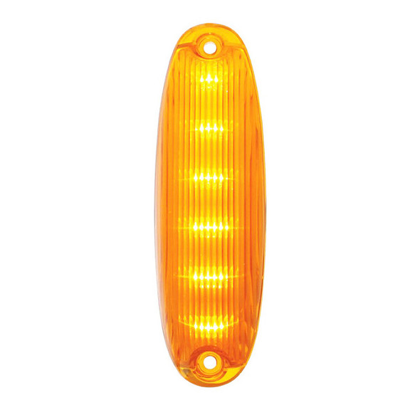 Freightliner Cascadia LED Cab Light - Amber LED/Amber Lens On