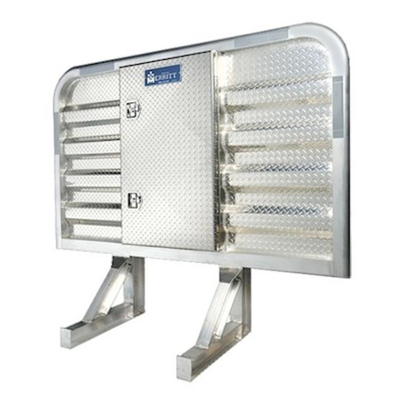 Dyna Light Security Headache Rack With Center Enclosure
