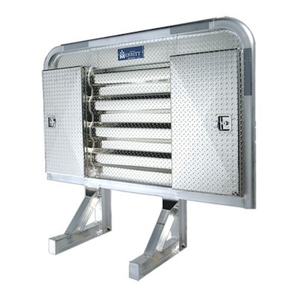 """Dyna Light Security Headache Rack With 9"""" Side Enclosures"""