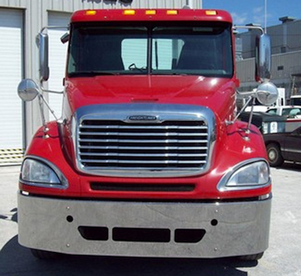 Freightliner Columbia & Century Bumper 2008 & Newer By Valley Chrome 9Front View)