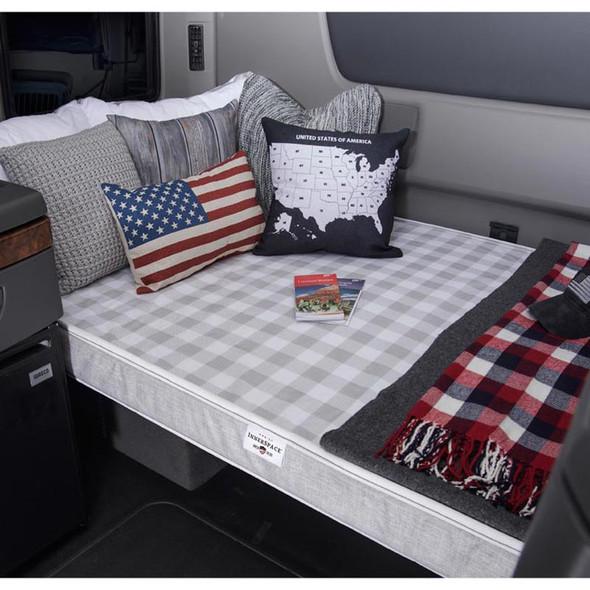 "Truck Mattress Sleep 4"" Polyurethane Foam On Truck"