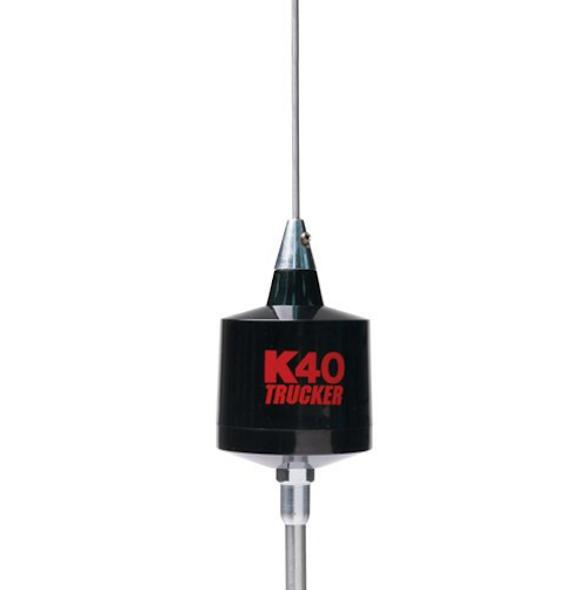 "K40 49"" Center Load CB Antenna 10"" Shaft Trucker Series"