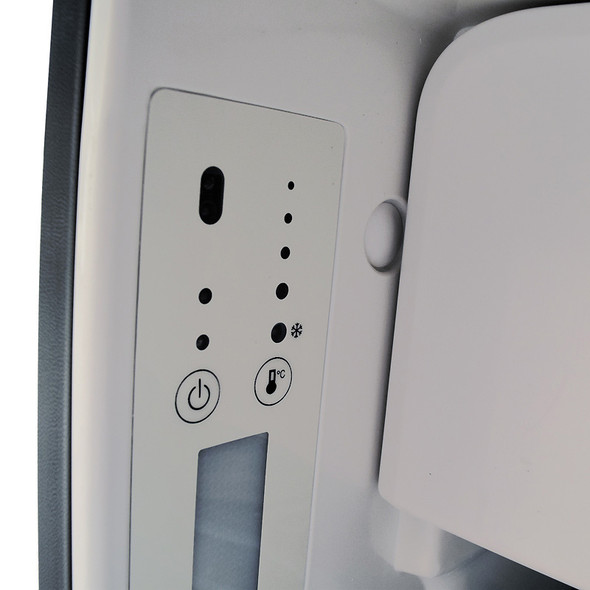 Truck Fridge Built-In 12-Volt DC Refrigerator LED Controls