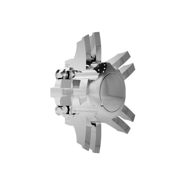 Super Single Spyder Zed Series Chrome Rear Axle Wheel Cover