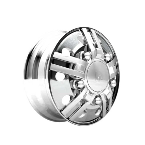 Spyder Series Chrome Front Axle Wheel Cover