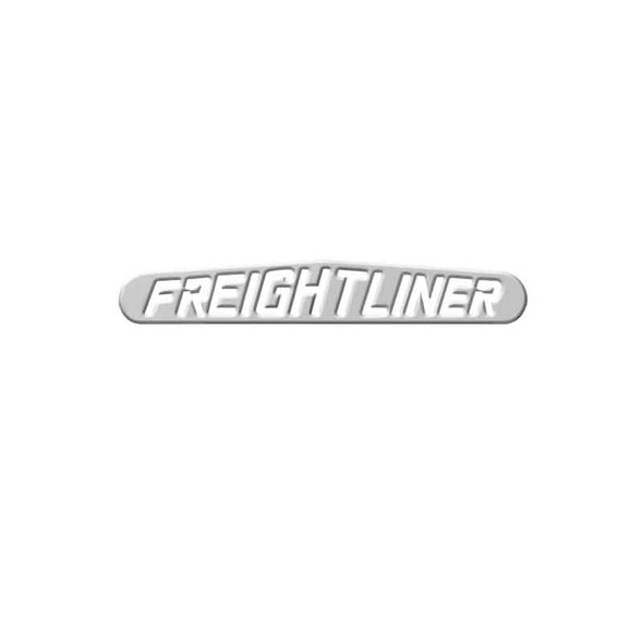 Chrome Bottom Mud Flap Plate With Freightliner Logo By Grand General