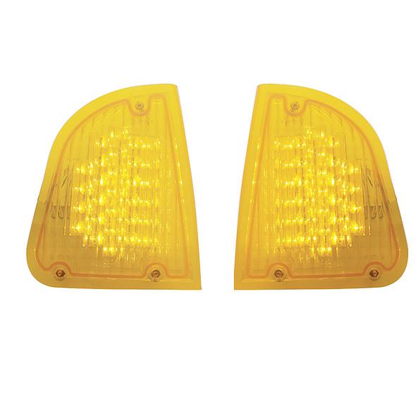 Kenworth T600 LED Turn Signal Lights - Amber