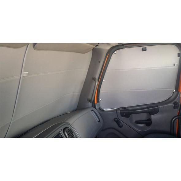 Peterbilt Premium Window Covers Inside Cab
