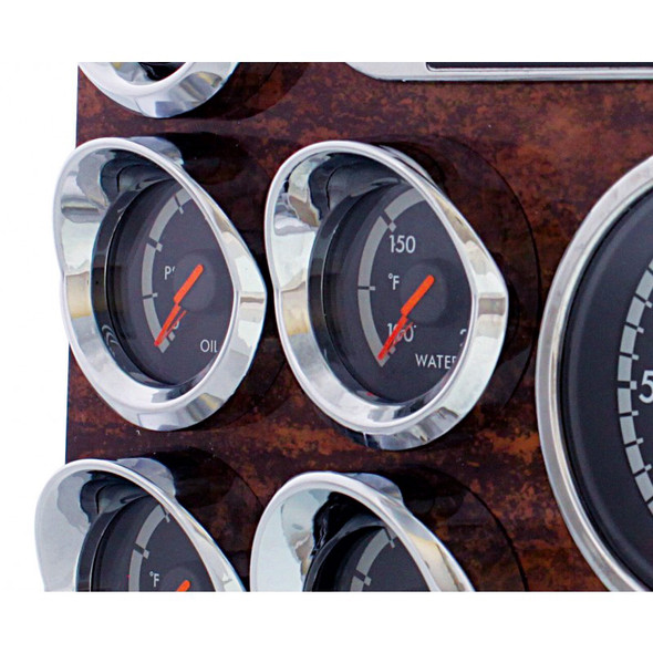 Freightliner Cascadia Small Gauge Cover With Visor