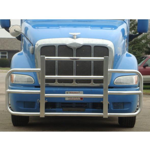 Mounted Light Blue Truck