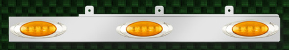 Freightliner Century Columbia Cab Panels With Pete Style 1 Amber LEDs