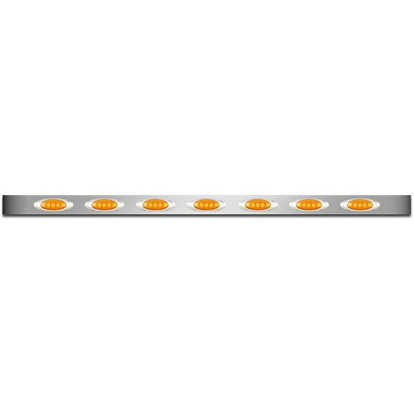 Peterbilt 359 379 388 389 Premium Sleeper Panel M1 Style LED Lights