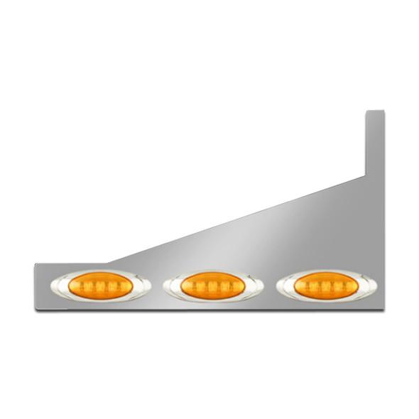 Peterbilt 359 379 388 389 Premium Sleeper Panel M1 Style LED Lights Extension