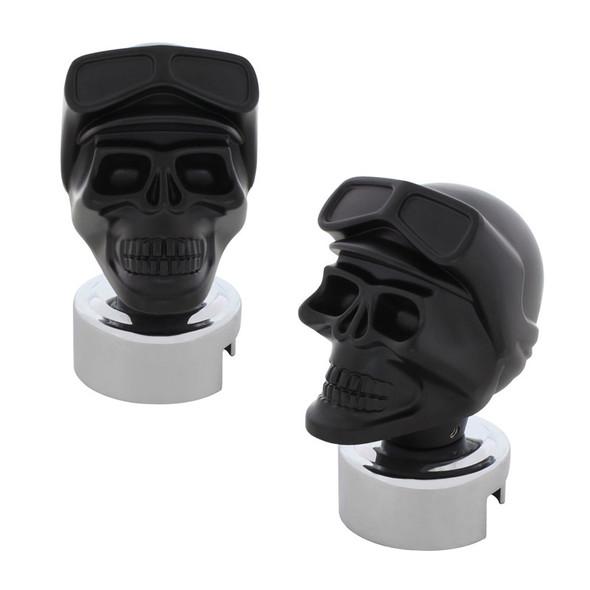 Skull Biker 13/15/18 & Super 10 Gearshift Knob Black