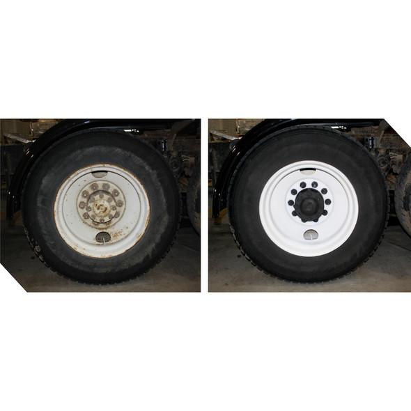 Tire Mask Kit Mounted