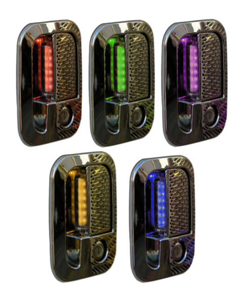 Door Handle Cover For Peterbilt & Kenworth With 6 LEDs
