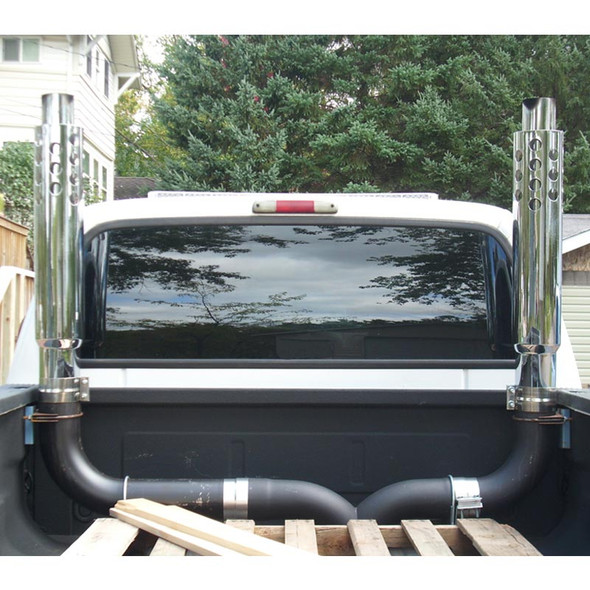 Dynaflex Tech Nine Exhaust Stack On Ford F-350
