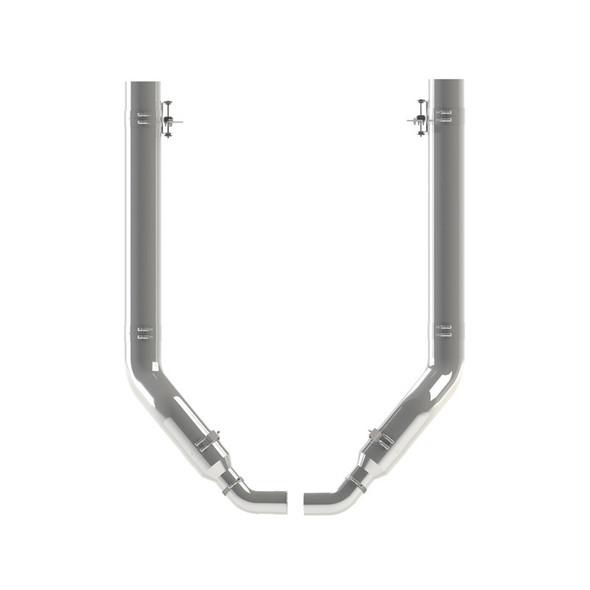 "Peterbilt 389 6"" Dynaflex Chrome Exhaust Kit OEM Style Elbow"