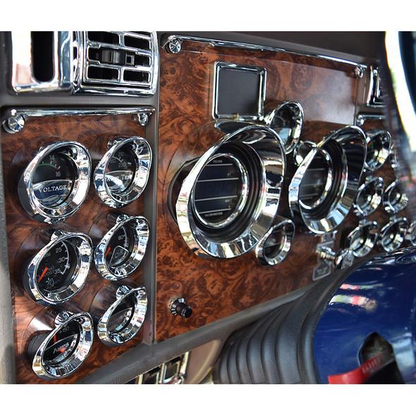 Kenworth 2002-2005 Dash Kit Side A - On Truck Side Angle