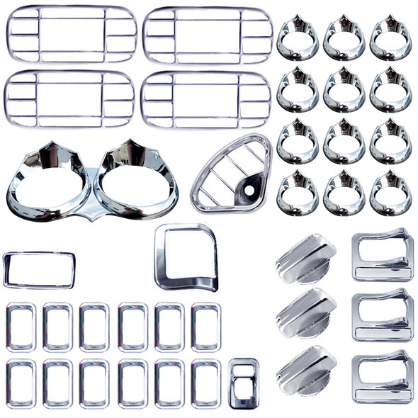 Peterbilt 2006 & Up Complete Wicked Dash Kit