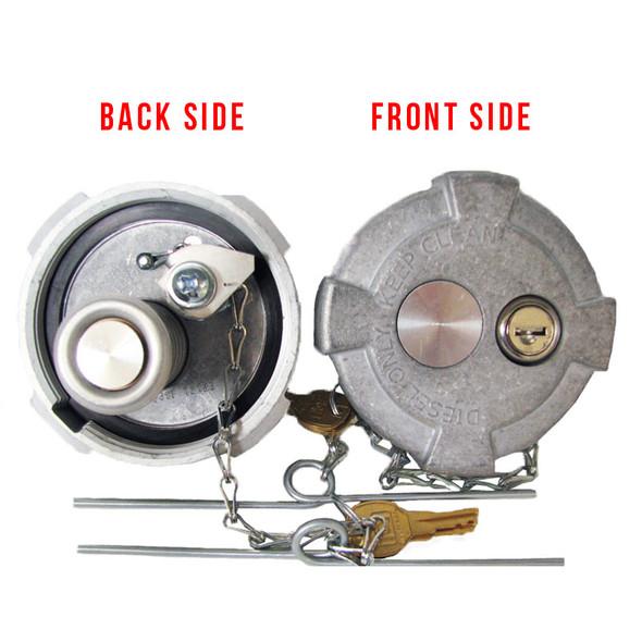 Heavy Duty Aluminum Locking Fuel Cap Replaces 90-02269 90-02269-02