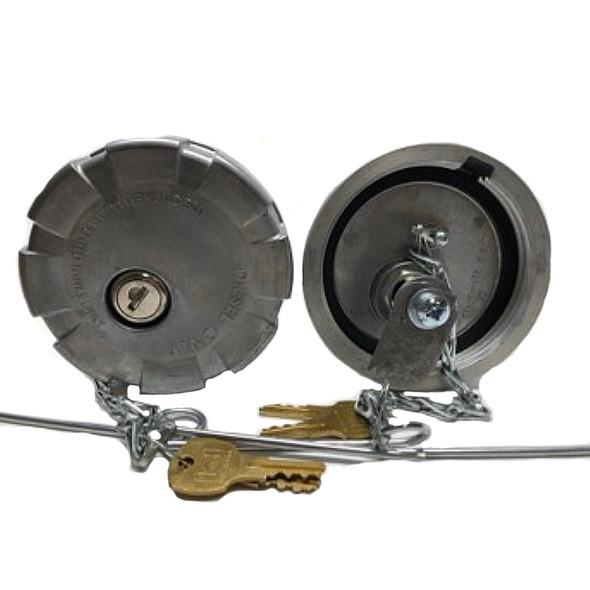 """Kenworth 3.5"""" Locking Fuel Cap"""