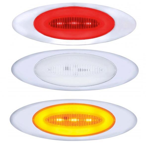 """13 LED """"Phantom I"""" Clearance Marker GLO Light Colors"""