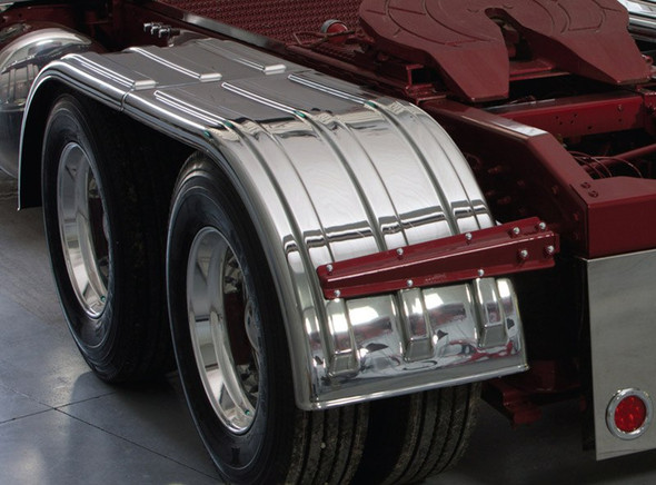 Minimizer 900 Series Chrome Poly Fenders (Installed)