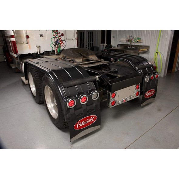 Minimizer 900 Series Carbon Fiber Poly Fenders (Rear; With Lightboxes)