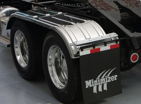 Minimizer 4000 Series Chrome Poly Fenders (Installed)