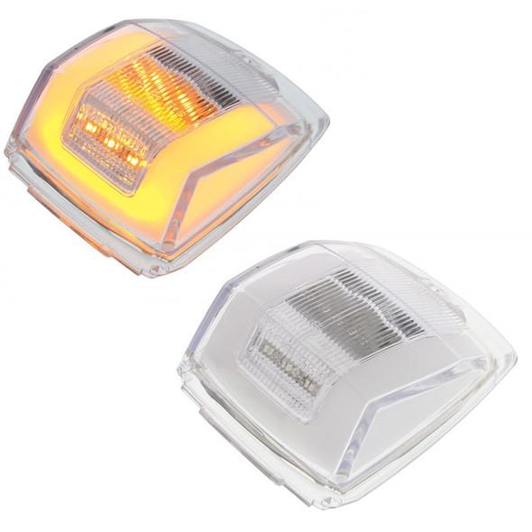 24 LED Cab GLO Light Clear Lens Amber LED