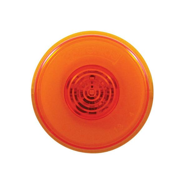 "Amber 6 LED 2"" Clearance Marker GLO Light"