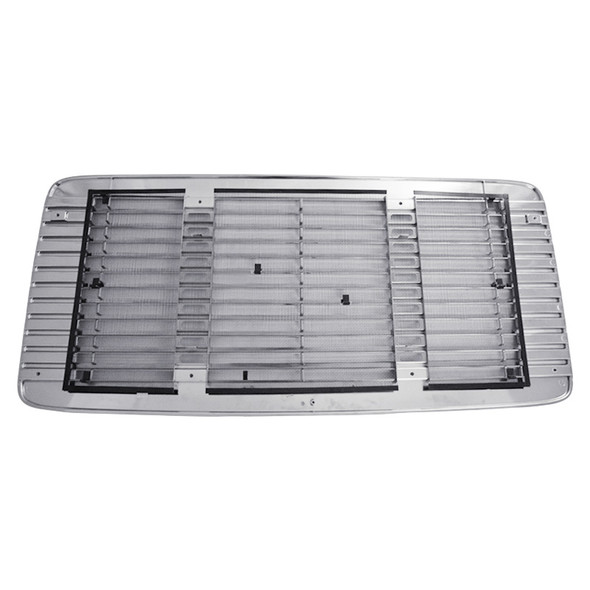 Freightliner FL 50 60 70 80 Chrome Grill With Screen Back