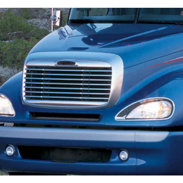 Freightliner Columbia Behind Grill Bug Screen On Truck