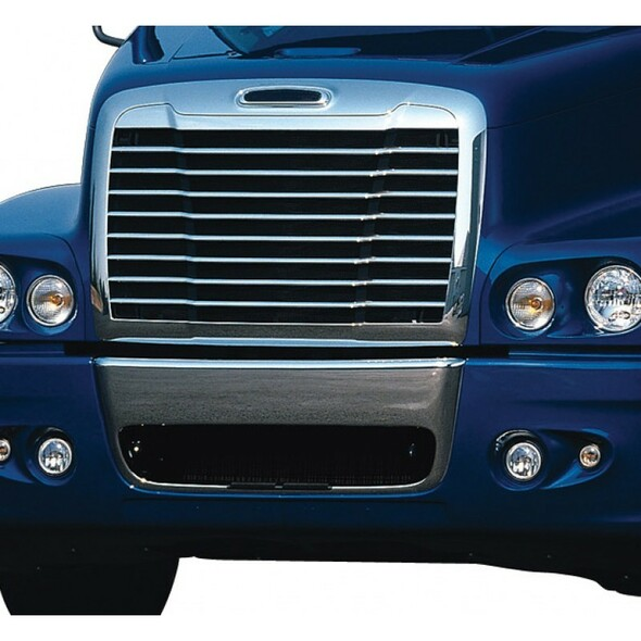 Freightliner Century Behind Grill Bug Screen On Truck