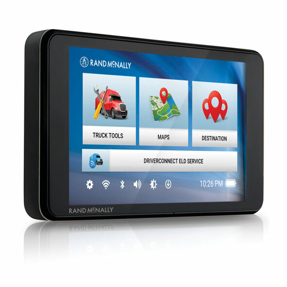 Rand McNally TND540 Truck GPS with Lifetime Maps