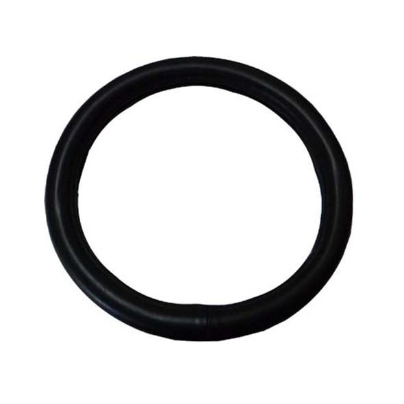 "20"" Black Leather Steering Wheel Cover"
