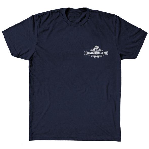Old School Hammer Lane Trucker T-Shirt Front
