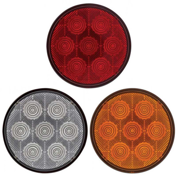 """4"""" Round """"Competition Series STT LED Light Off"""