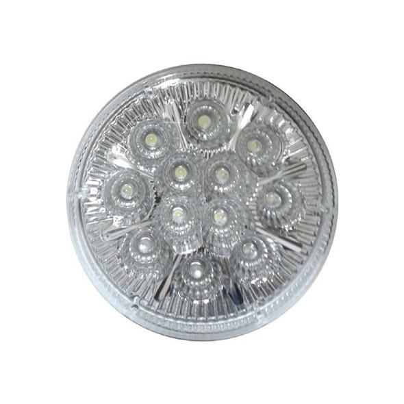 """12 LED 4"""" Round White Light"""